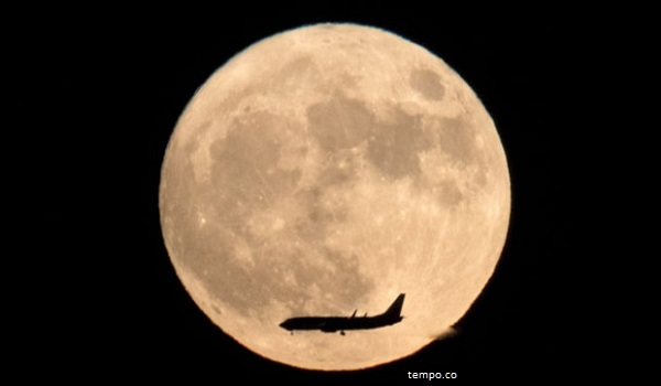 21 Januari, Indonesia Diterangi Cahaya Supermoon